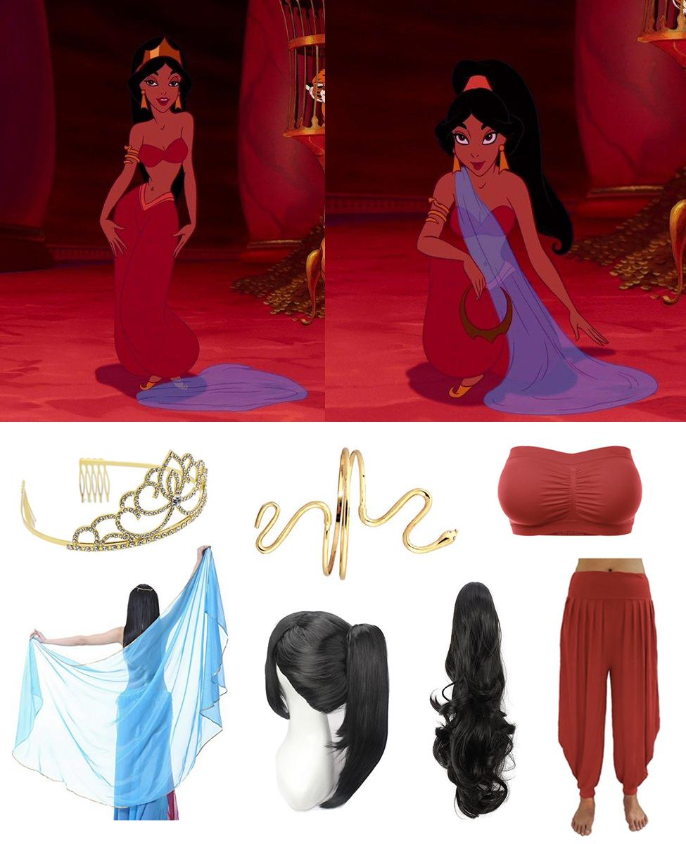 Princess Jasmine in Red Cosplay Guide