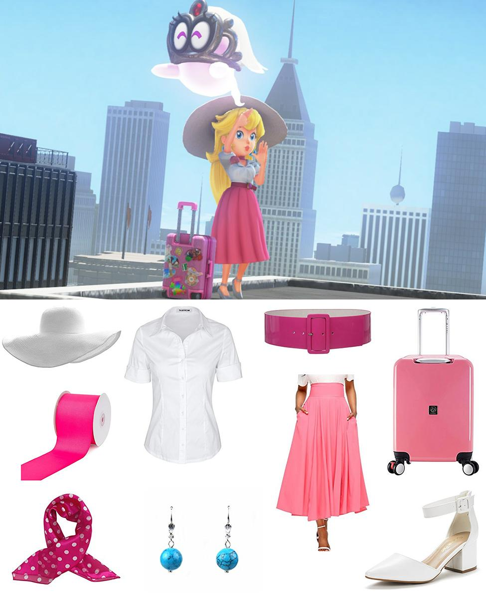 Princess Peach from New Donk City Cosplay Guide