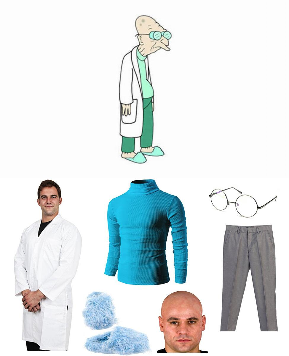 Professor Farnsworth Cosplay Guide