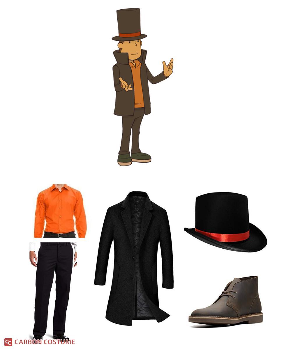 Professor Hershel Layton from the Professor Layton Series Cosplay Guide