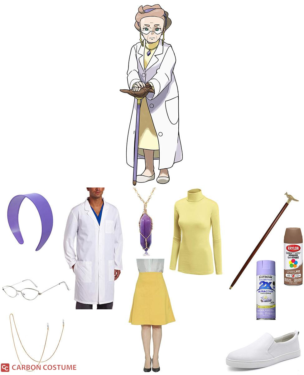 Professor Magnolia from Pokemon Sword and Shield Cosplay Guide