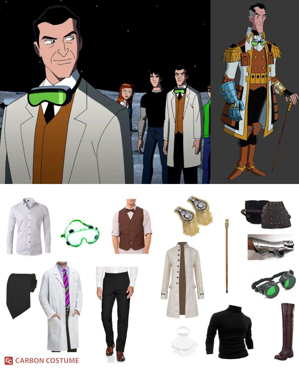 Professor Paradox from Ben 10 Cosplay Guide