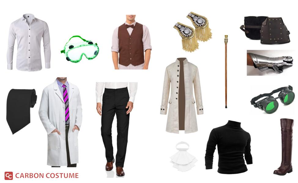Professor Paradox from Ben 10 Costume