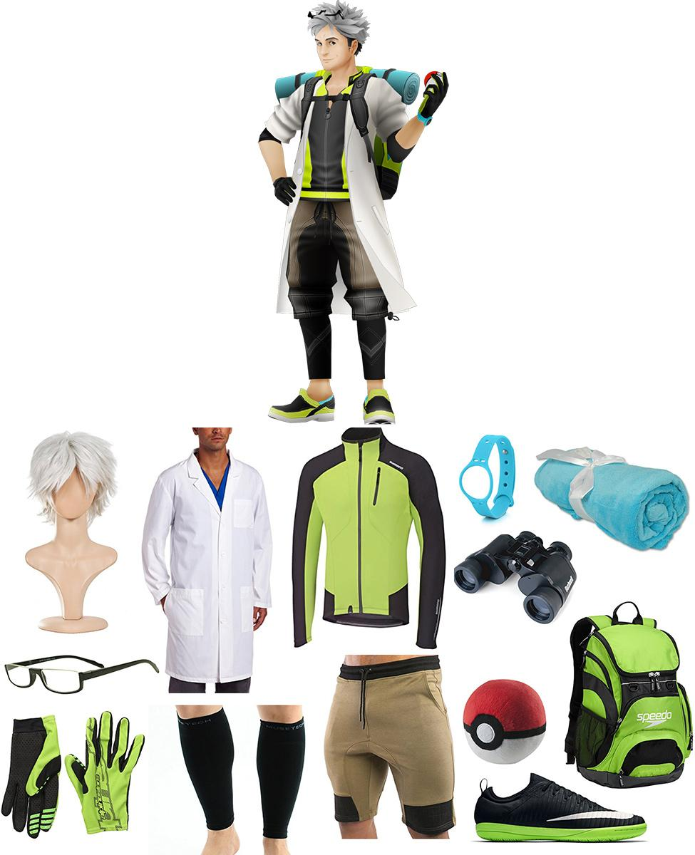 Professor Willow from Pokemon Go Cosplay Guide