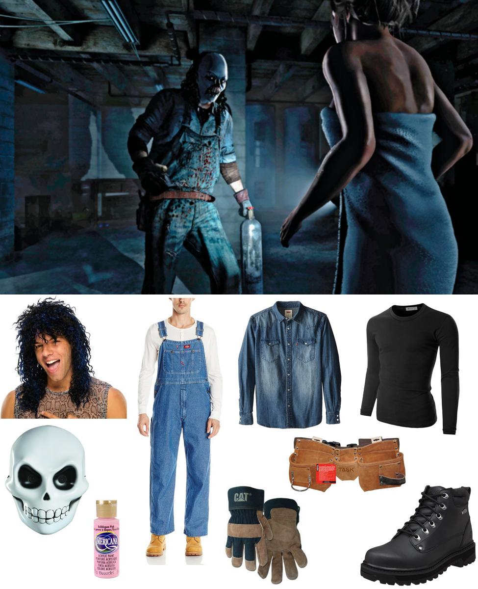 Psycho from Until Dawn Cosplay Guide
