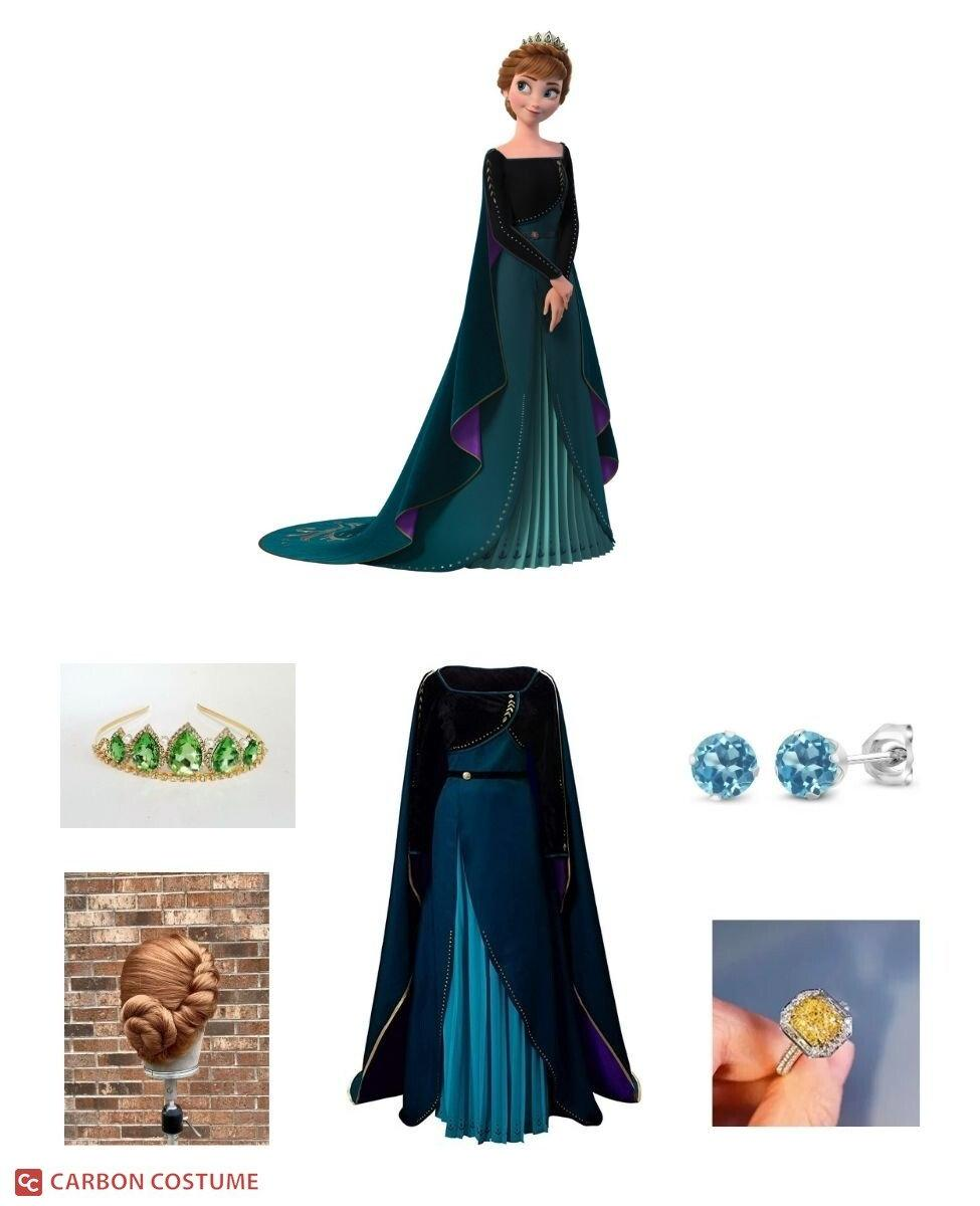 Queen Anna from Frozen 2 Cosplay Guide