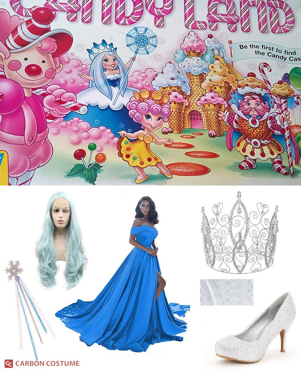 Queen Frostine from Candyland Cosplay Guide