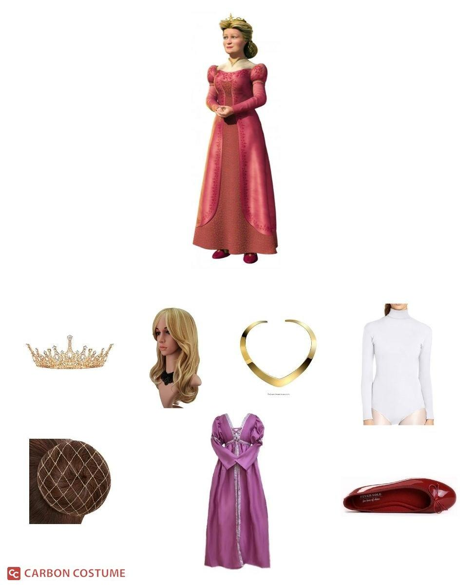 Queen Lillian from Shrek Cosplay Guide