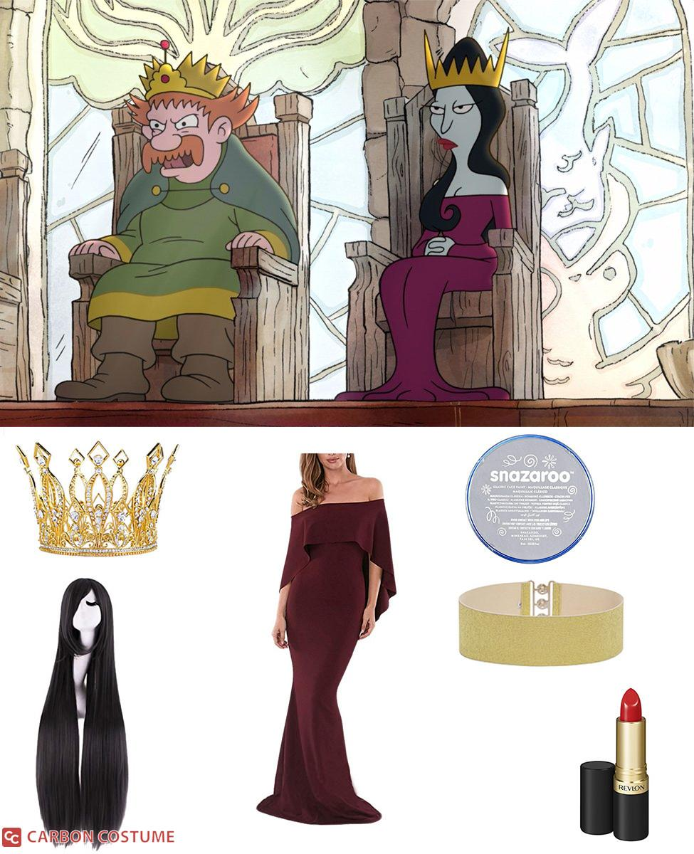 Queen Oona from Disenchantment Cosplay Guide