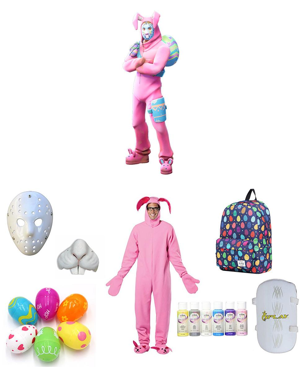 Rabbit Raider from Fortnite Cosplay Guide