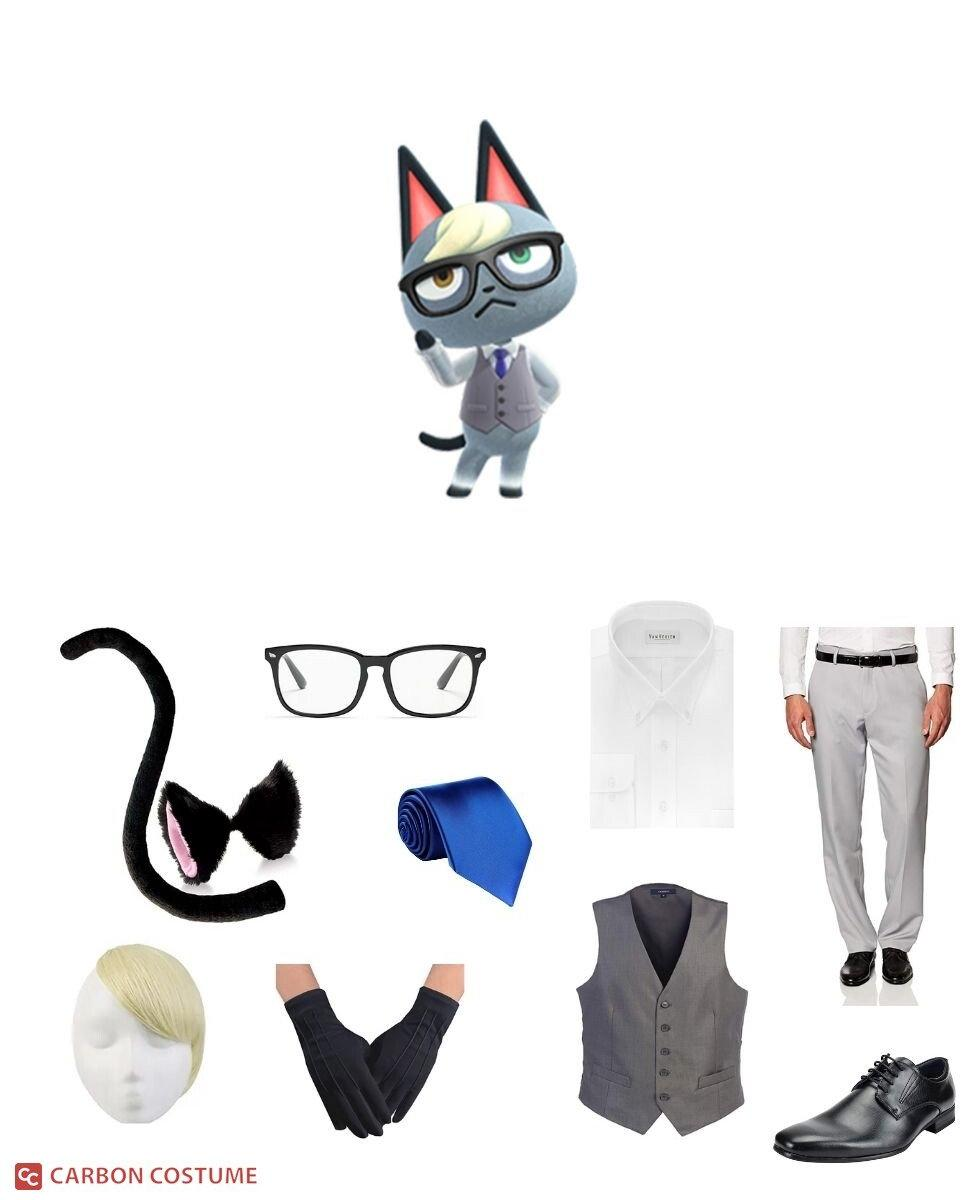 Raymond from Animal Crossing Cosplay Guide