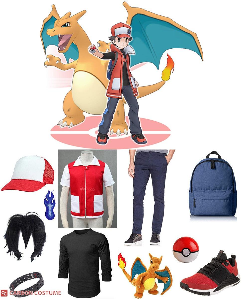 Red from Pokemon Masters Cosplay Guide