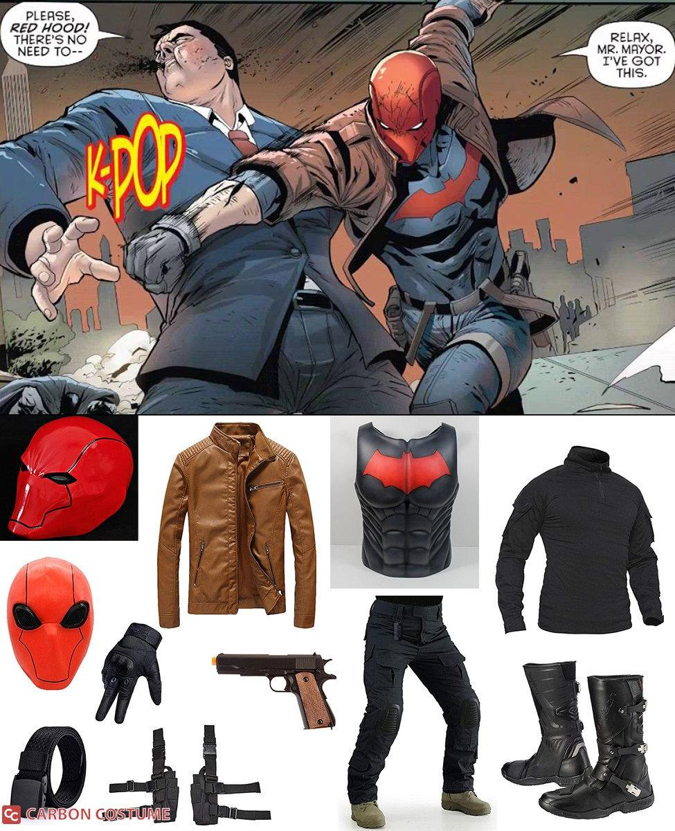 Red Hood Rebirth Cosplay Guide