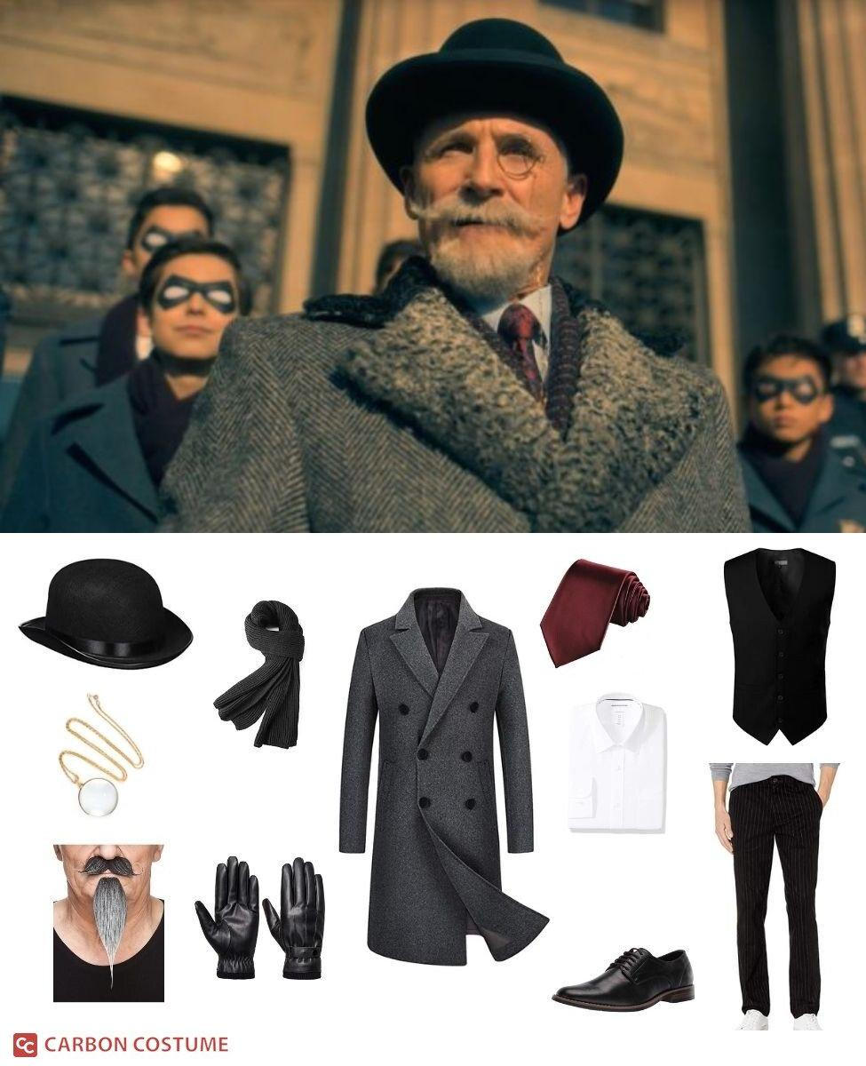 Reginald Hargreeves from The Umbrella Academy Cosplay Guide