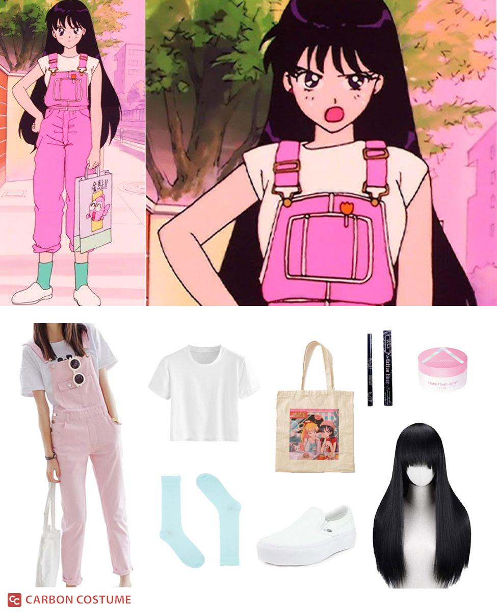 Rei Hino from Sailor Moon Cosplay Guide