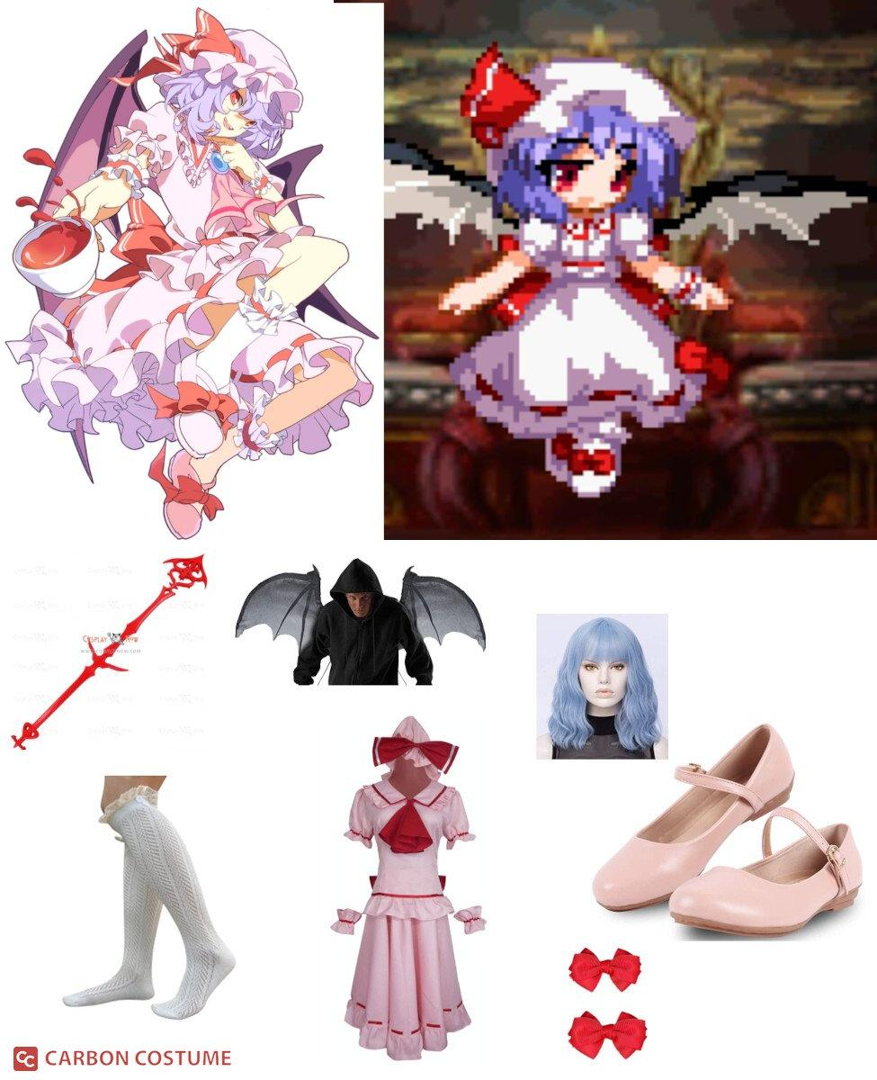 Remilia Scarlet from Touhou Project Cosplay Guide