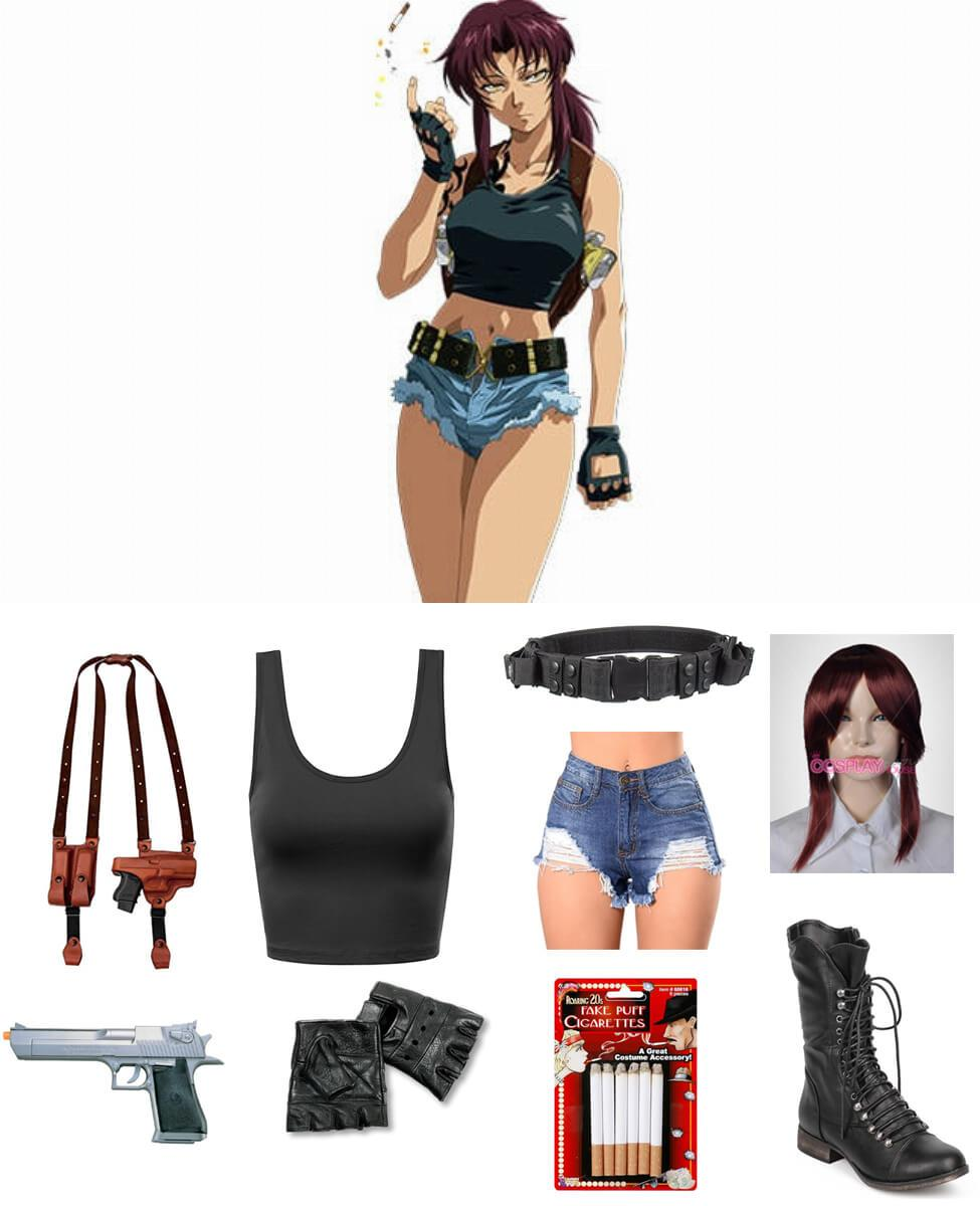Revy from Black Lagoon Cosplay Guide