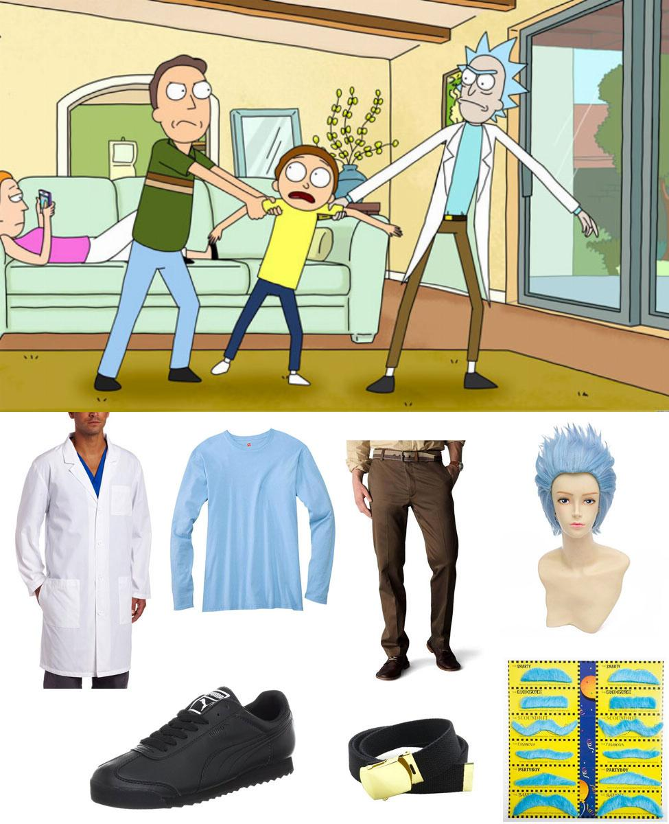Rick Sanchez Cosplay Guide