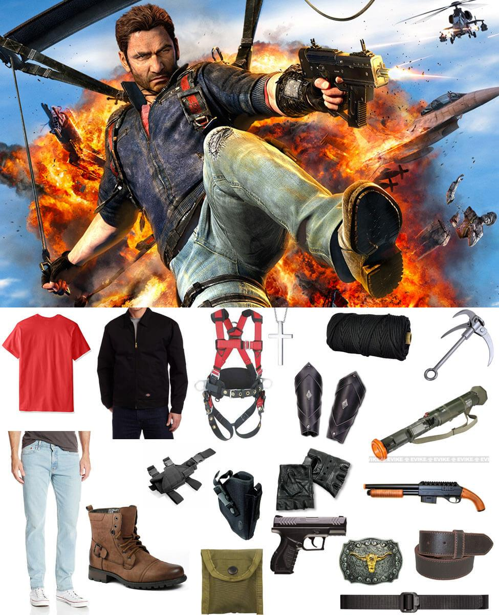Rico Rodriguez Cosplay Guide