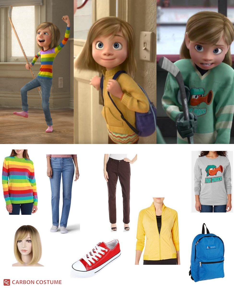 Riley Andersen from Inside Out Cosplay Guide