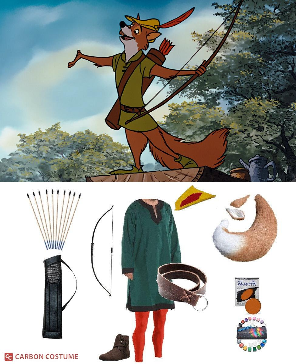 Robin Hood from Disney's Robin Hood (1973) Cosplay Guide