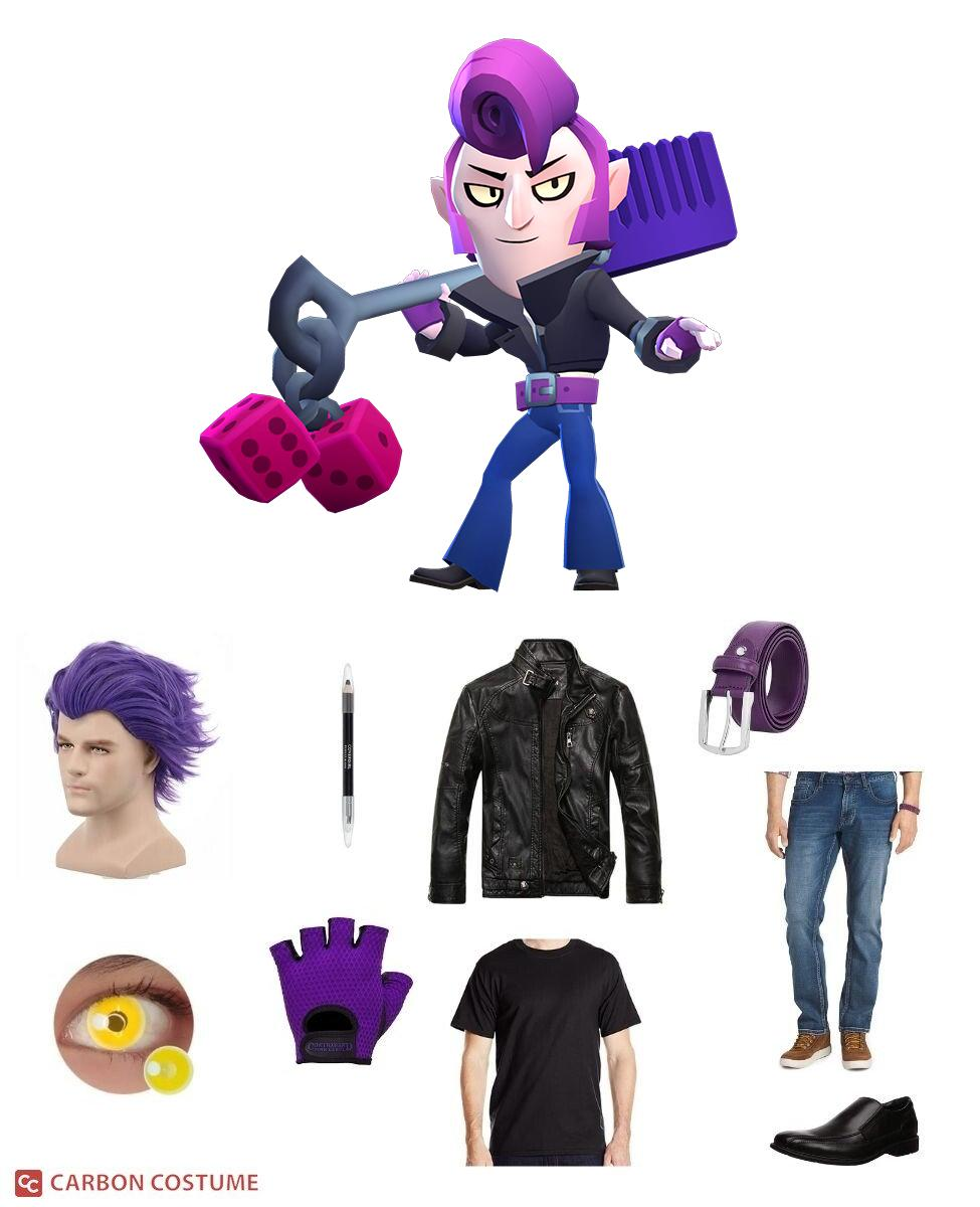 Rockabilly Mortis from Brawl Stars Cosplay Guide