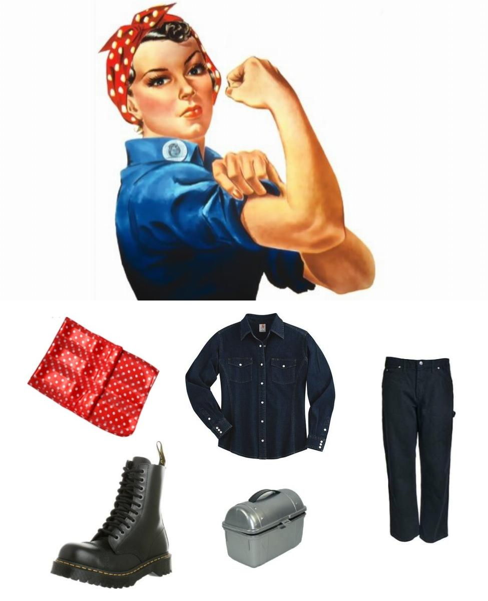 Rosie the Riveter Cosplay Guide