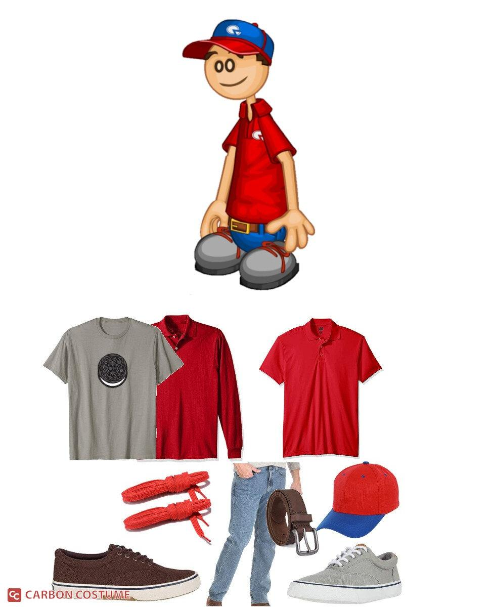 Roy from Papa Louie Cosplay Guide