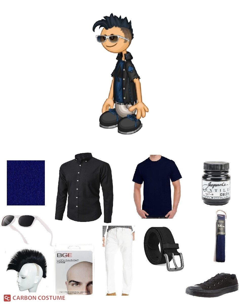 Rudy from Papa Louie Cosplay Guide