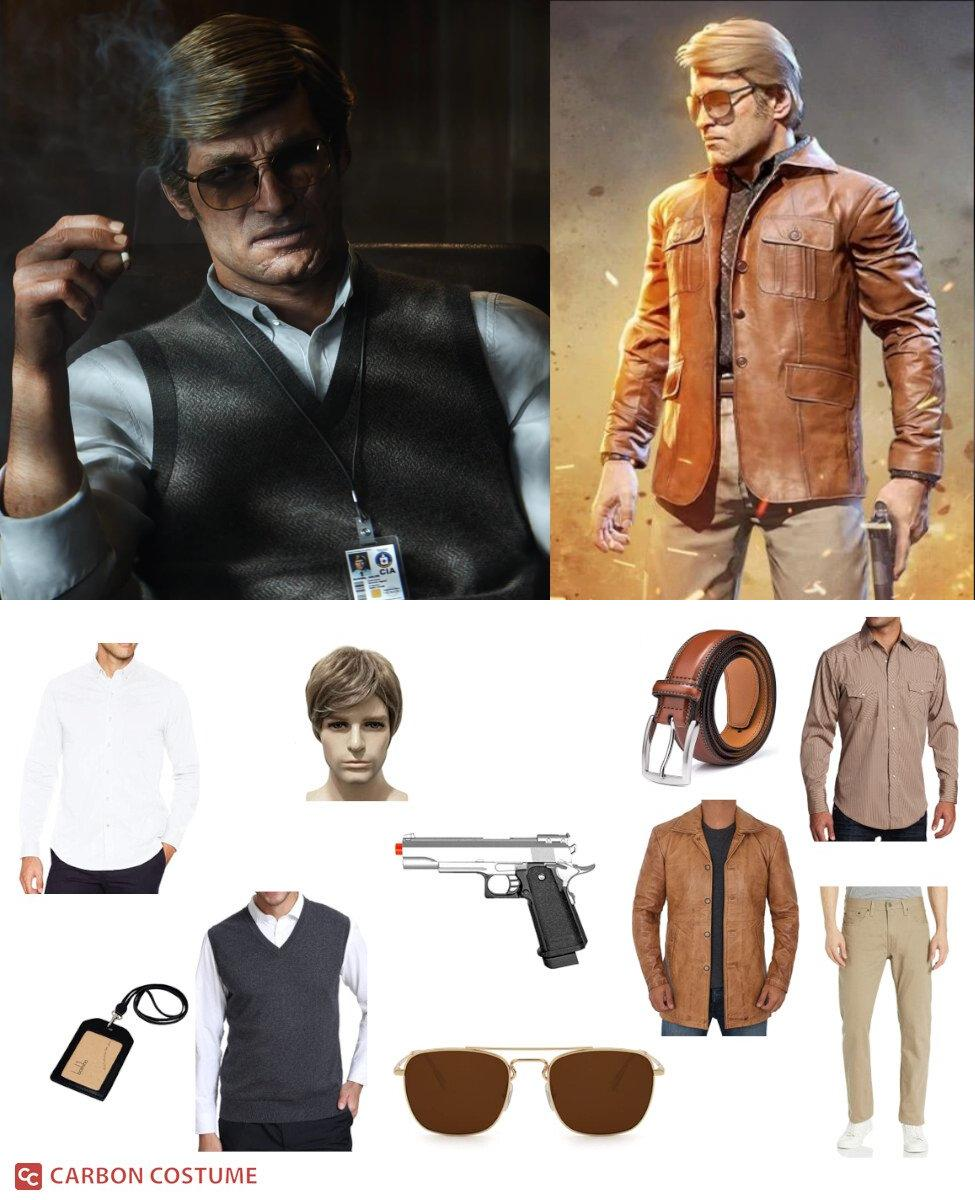 Russell Adler from Call of Duty: Black Ops Cold War Cosplay Guide