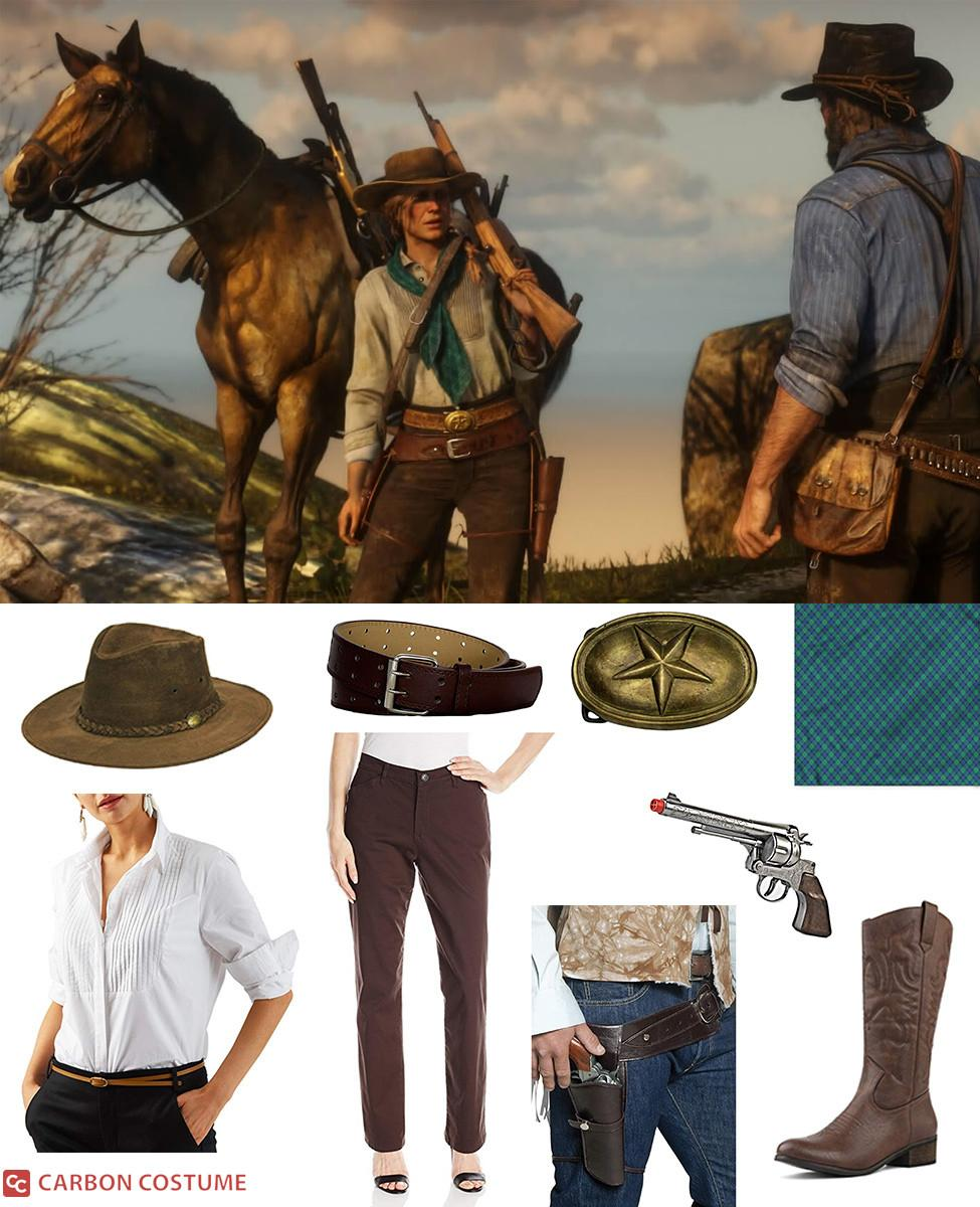 Sadie Adler from Red Dead Redemption 2 Cosplay Guide