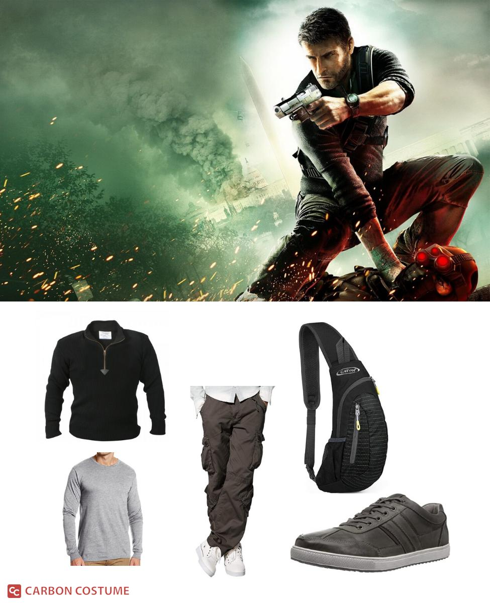 Sam Fisher from Splinter Cell Conviction Cosplay Guide