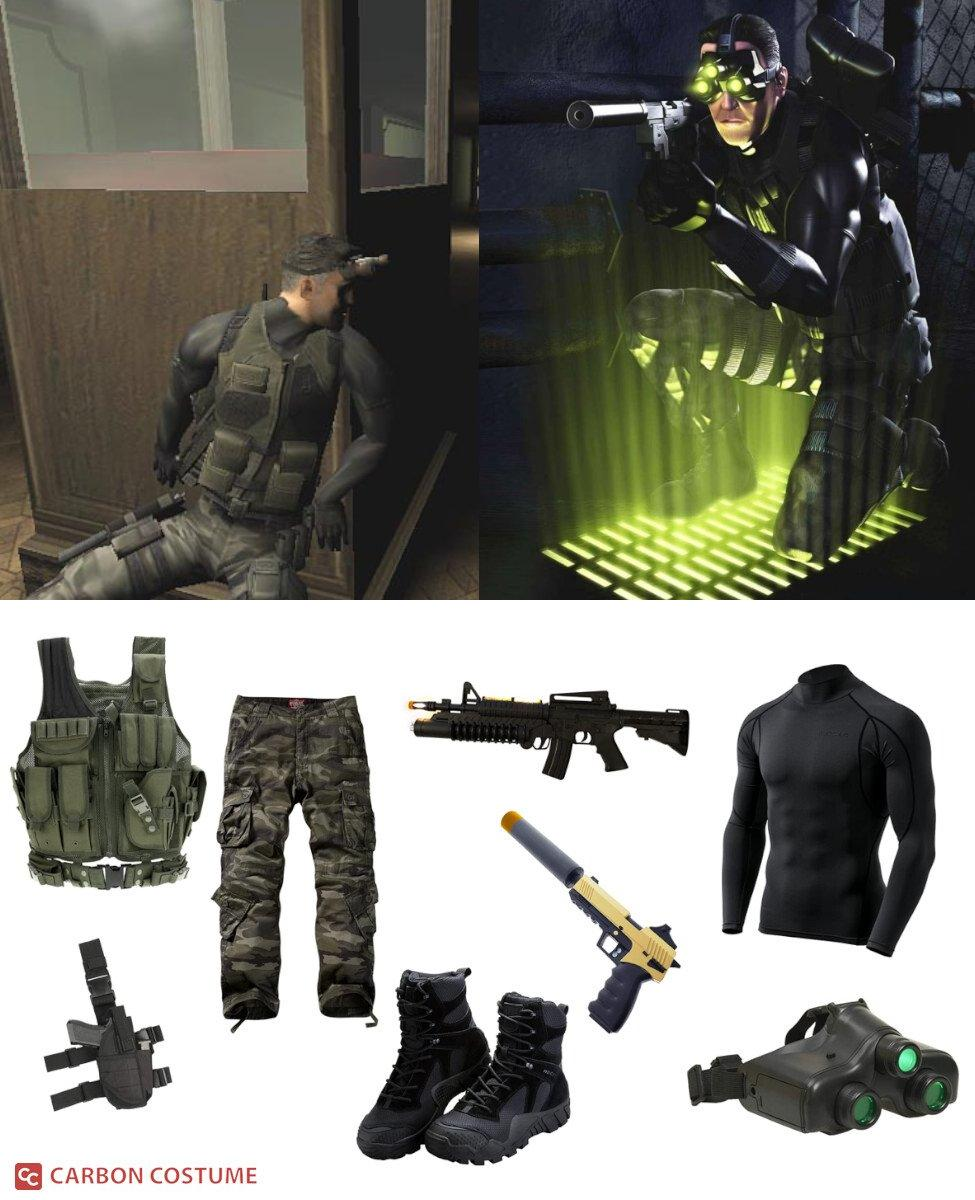 Sam Fisher from Splinter Cell Cosplay Guide