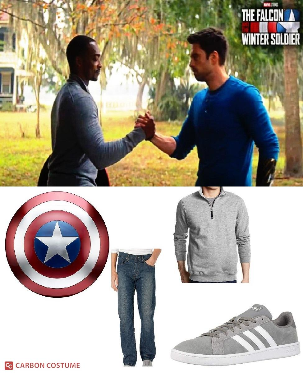 Sam Wilson from Falcon and the Winter Soldier Cosplay Guide