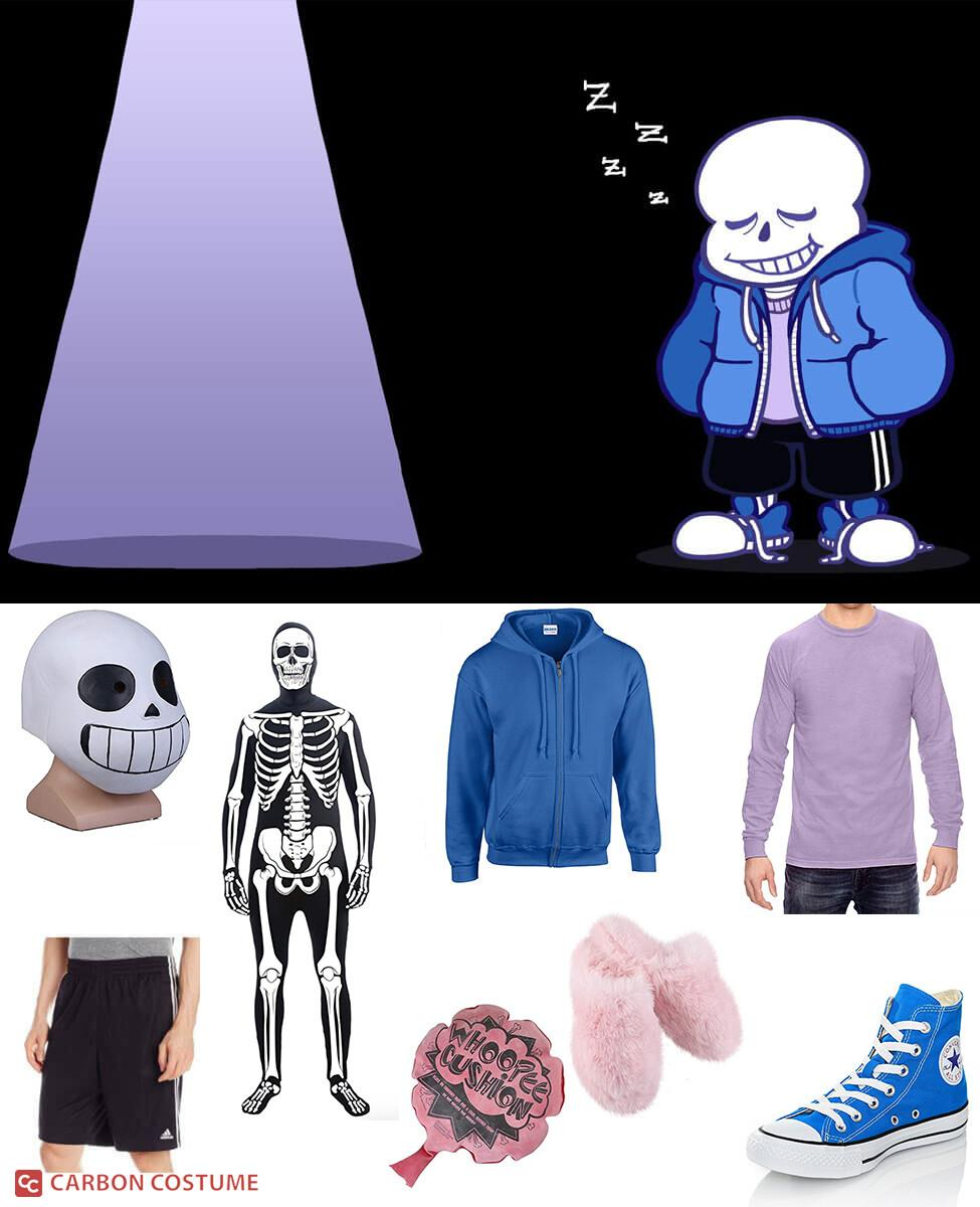 Sans Cosplay Guide