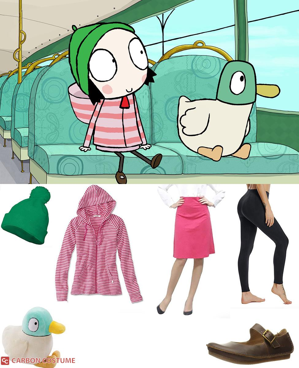 Sarah from Sarah & Duck Cosplay Guide