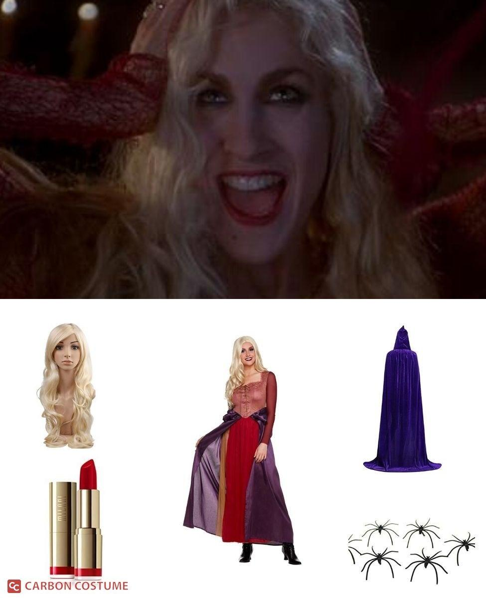 Sarah Sanderson from Hocus Pocus Cosplay Guide