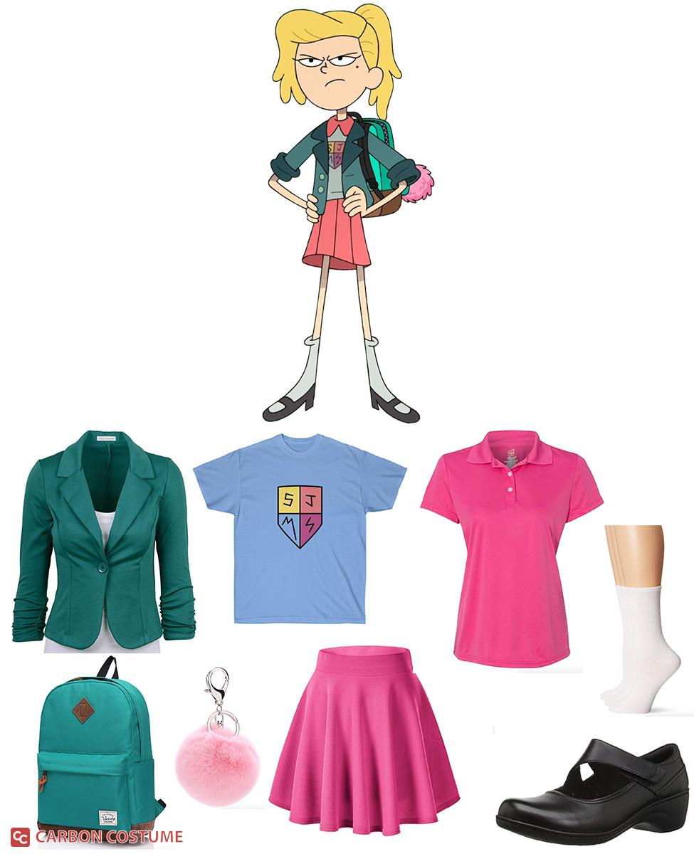 Sasha from Amphibia Cosplay Guide