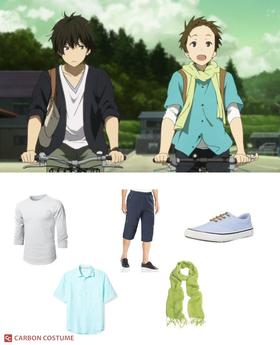 Satoshi from Hyouka Cosplay Guide