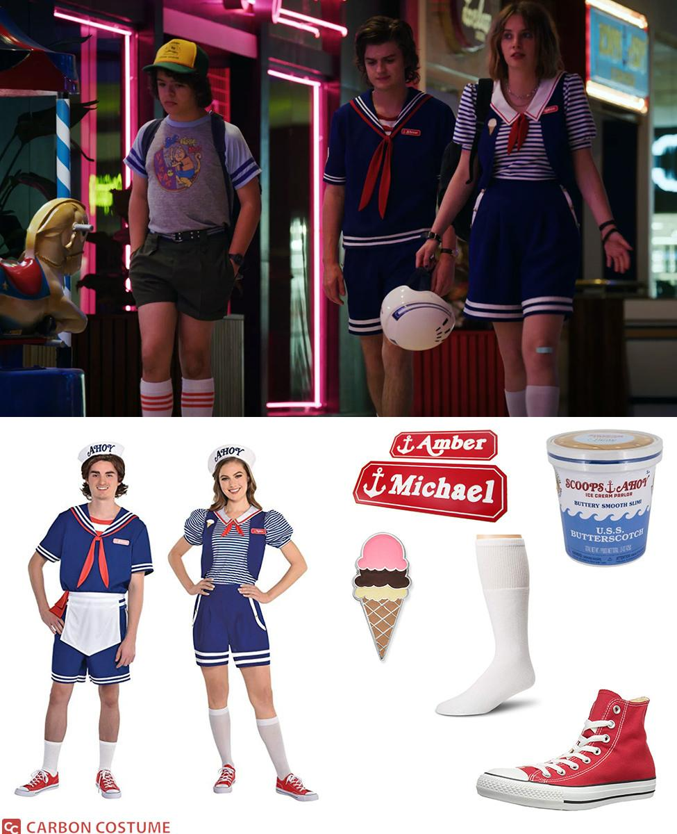 Scoops Ahoy Workers from Stranger Things Cosplay Guide