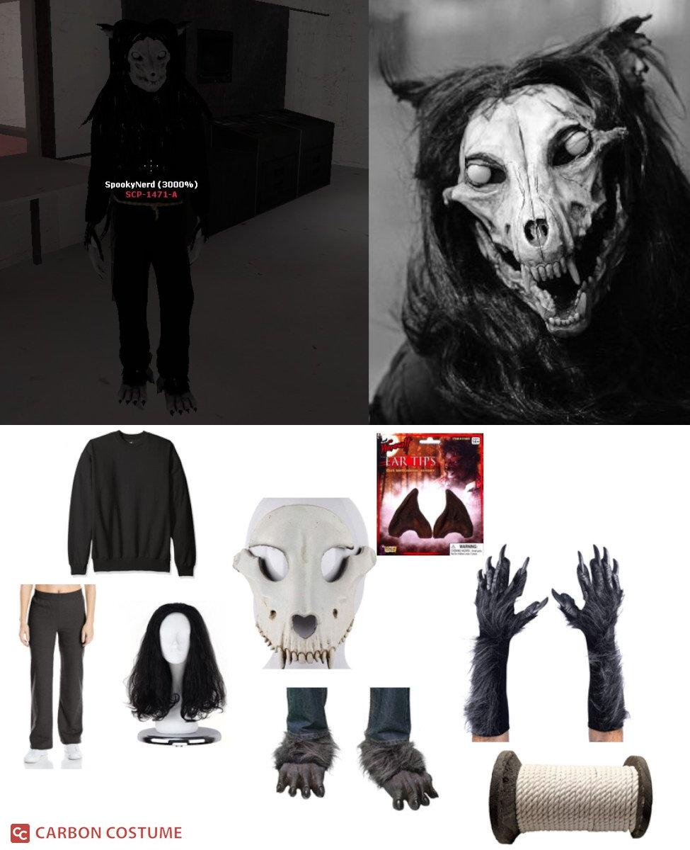 SCP 1471-A from SCP Containment Breach Cosplay Guide