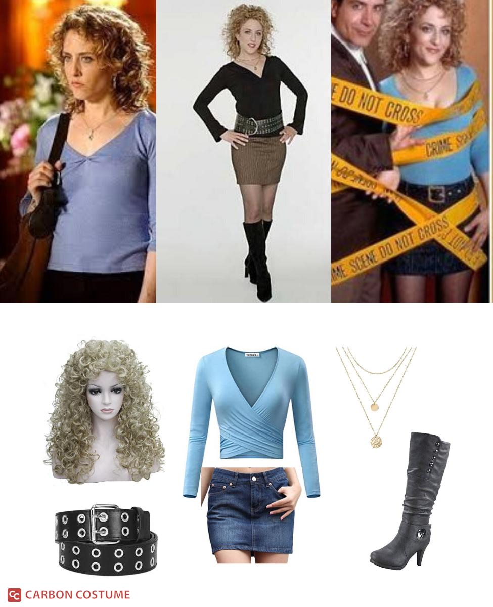 Sharona Fleming from Monk Cosplay Guide