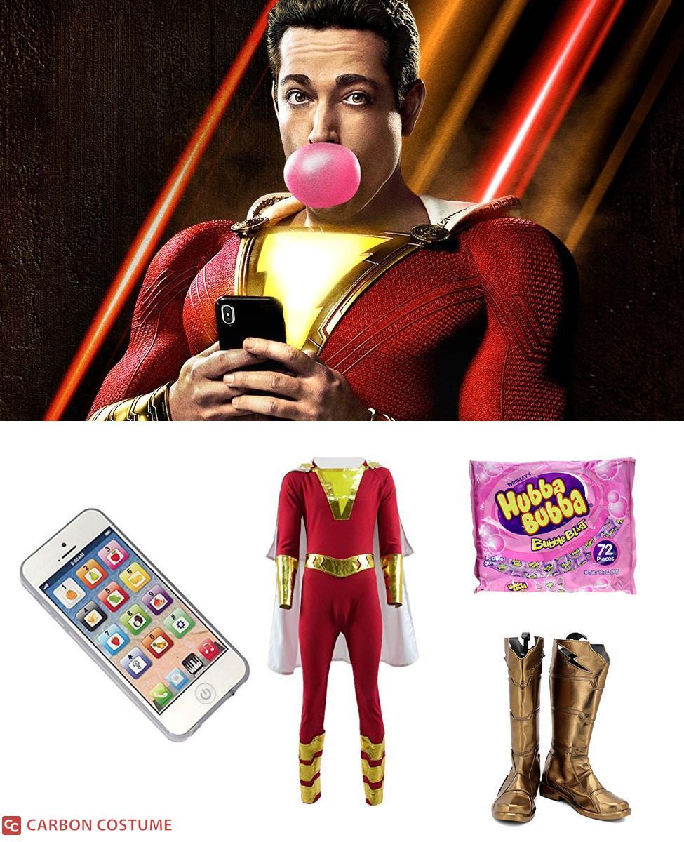Shazam! Cosplay Guide