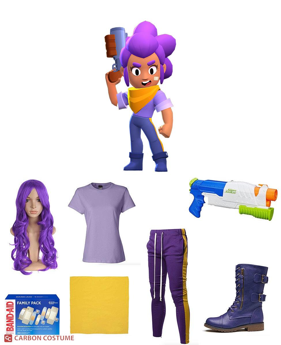 Shelly from Brawl Stars Cosplay Guide