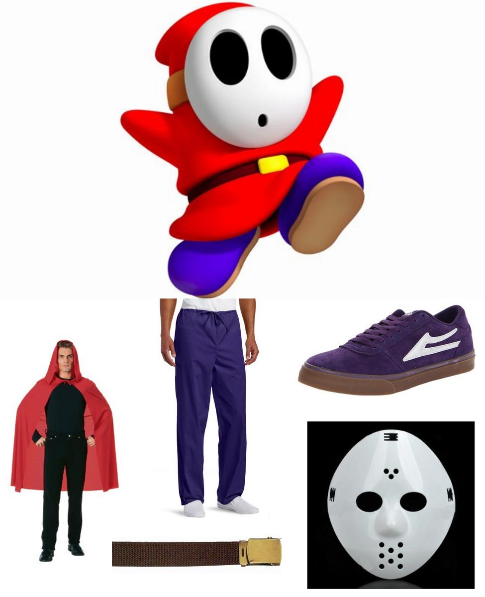 Shy Guy Cosplay Guide