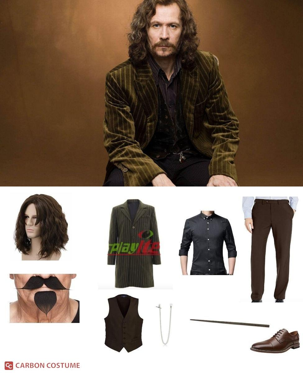 Sirius Black from Harry Potter Cosplay Guide