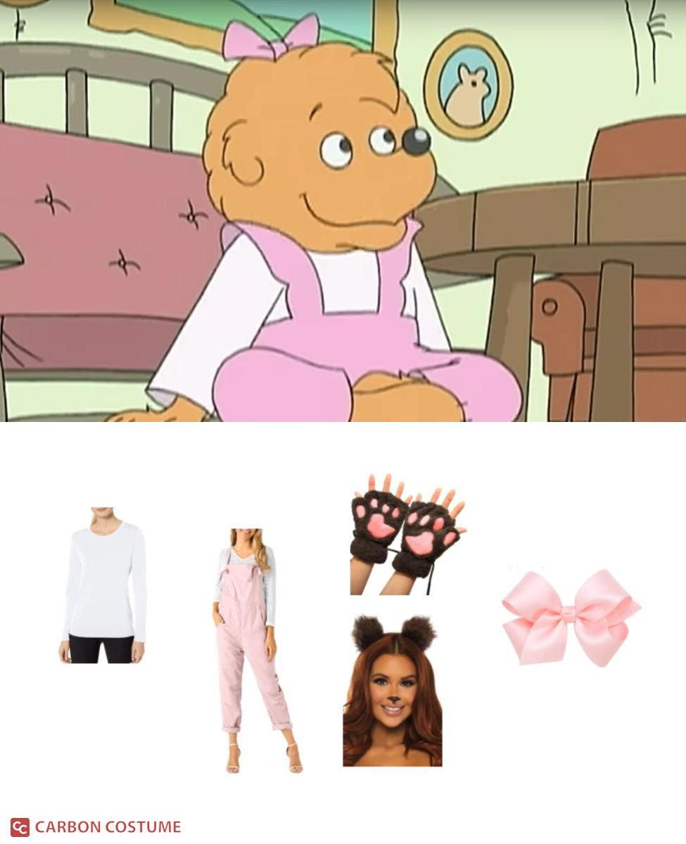Sister Bear from Berenstain Bears Cosplay Guide