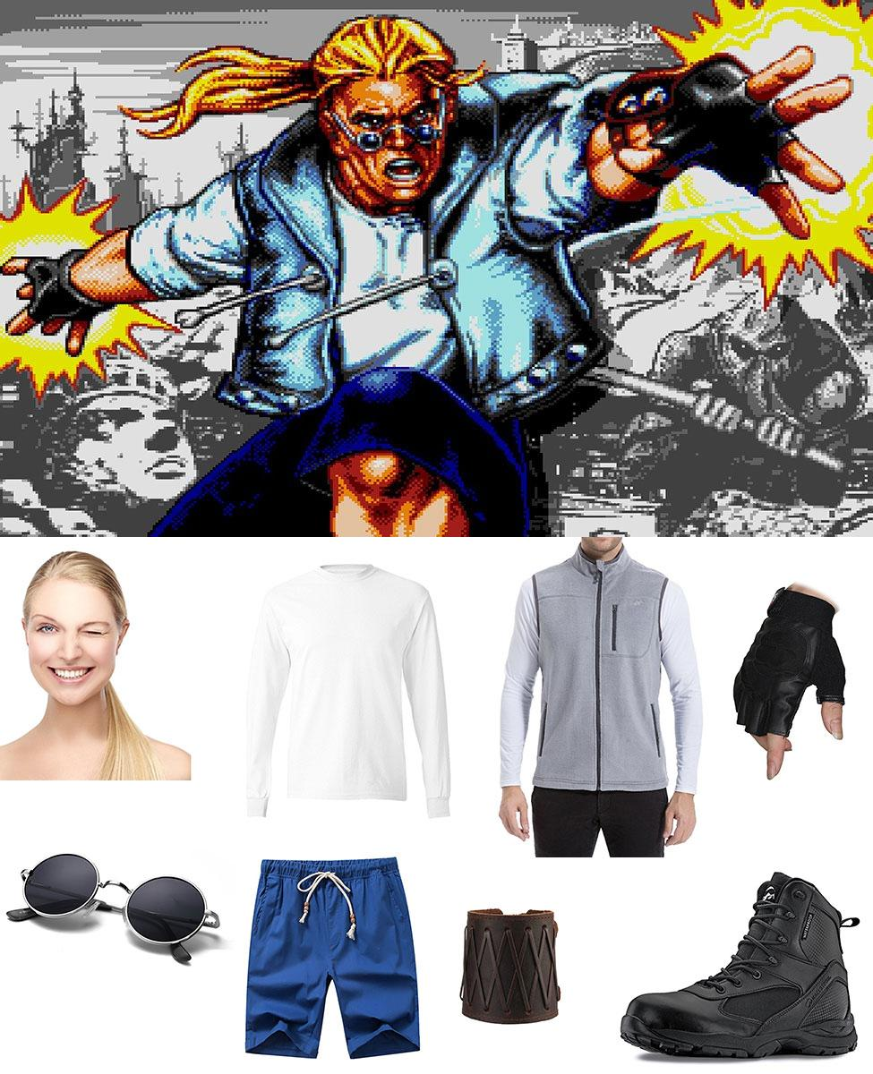 Sketch Turner from Comix Zone Cosplay Guide