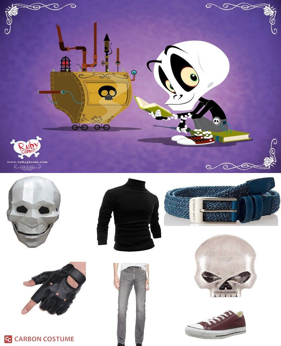 Skull Boy from Ruby Gloom Cosplay Guide