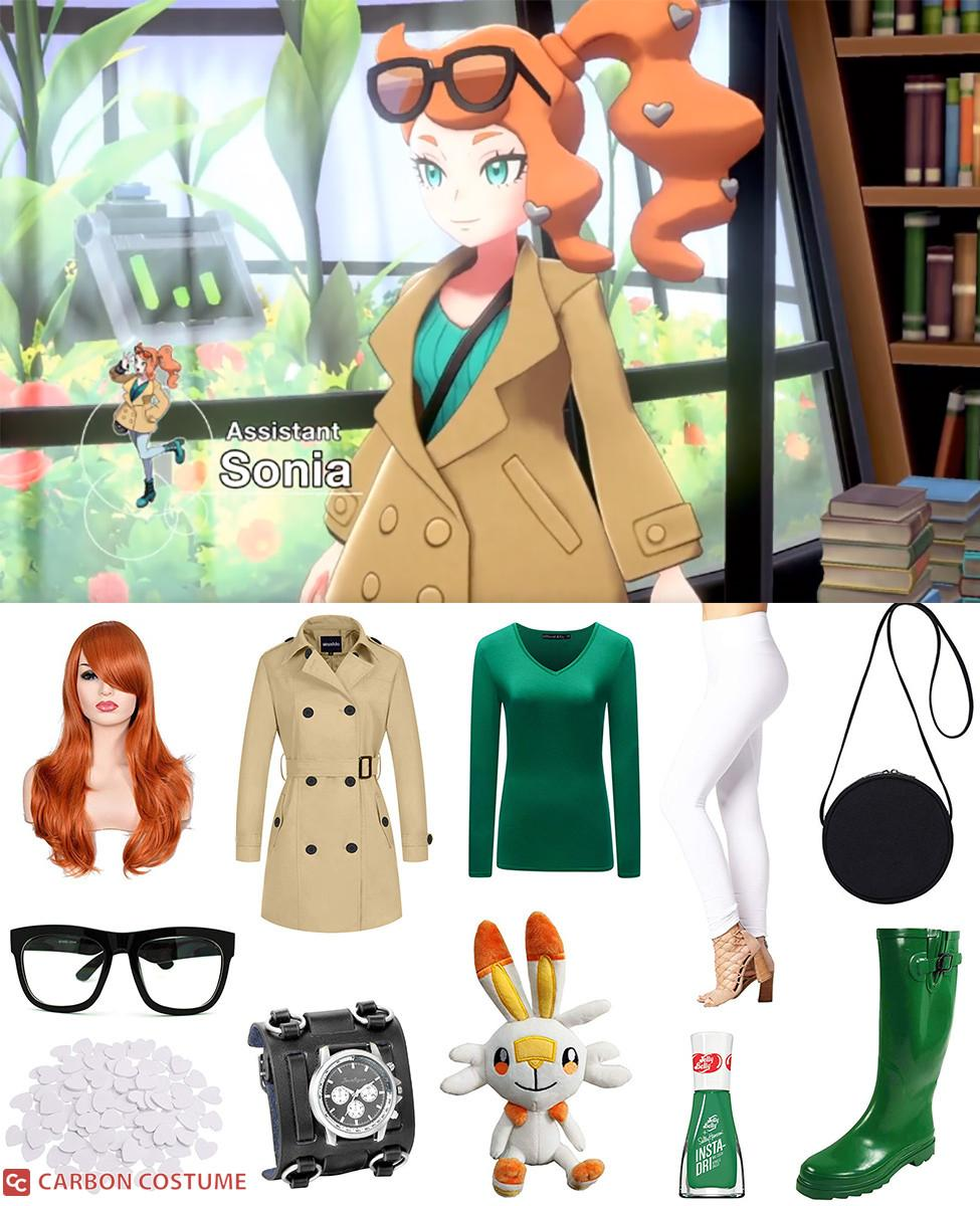 Sonia from Pokemon Sword and Shield Cosplay Guide